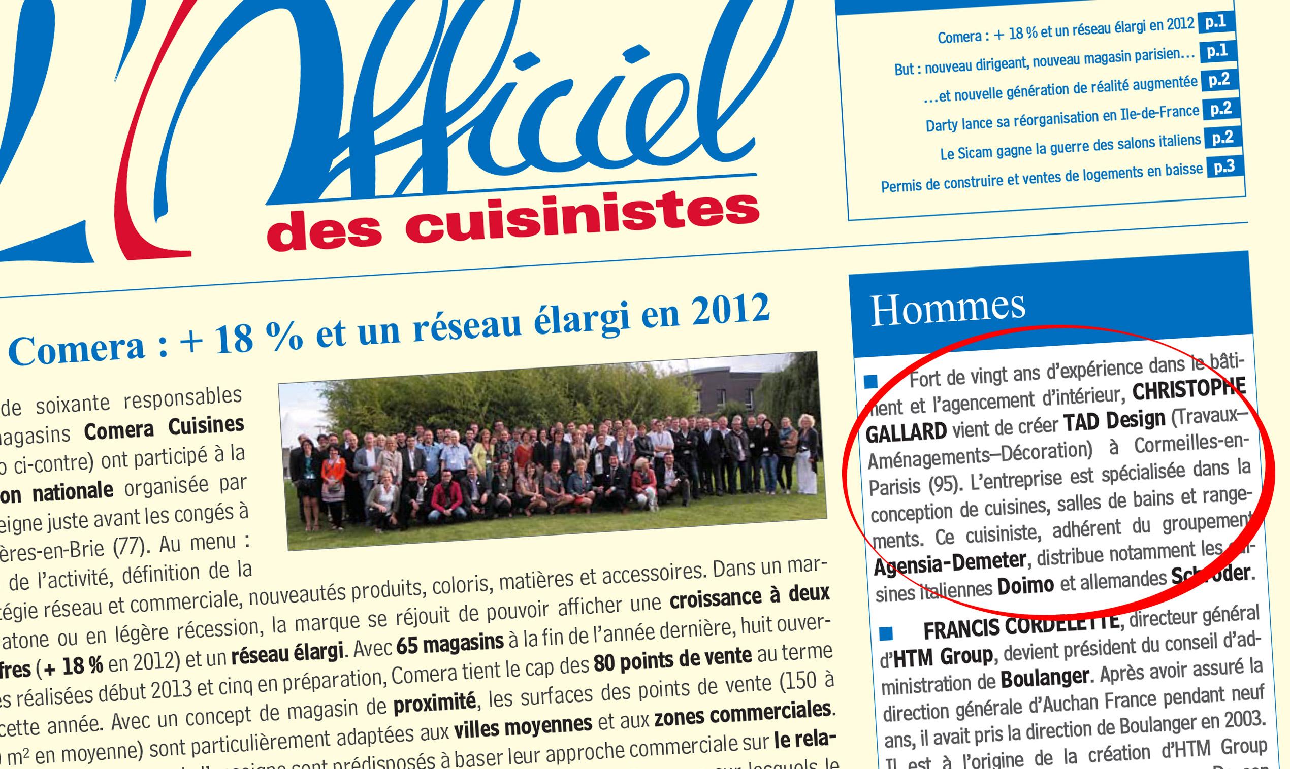 L officiel des cuisinistes n 1768 du 2 septembre 2013 - Officiel du cuisiniste ...